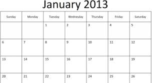 Monthly Calendar 2013 Monthly Calendar 2013 Printable Lacse Info