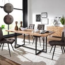 Esstisch Mit Stühlen Aus Holz