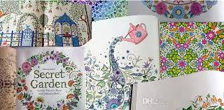 2018 hot graffiti painting drawing book secret garden an inky trere hunt and coloring book for