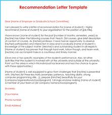 Generic Letter Of Recommendation Sample Example Letter Of Reference Teacher Valid Sample Re Mendation New