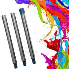 3 sections aluminium s for paint roller wall painting brush extended