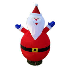 Light Up Pop Up Santa Pin On Products