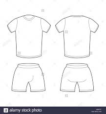 Shorts Design Template T Shirt And Shorts Template For Design Sample For Sports