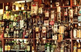 Dispensers And Liquor Display Pub Bar