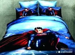 superhero comforter set twin sheets whole bedding queen superman toddler s