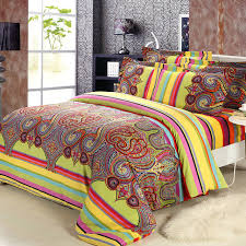2016 new brushed cotton bohemian comforter bedding sets boho style intended for new property moroccan bedding set designs