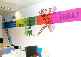 office graphic design. Graphic Design Office Wall Creative Ideas Astound Interior By Illustration Home 1