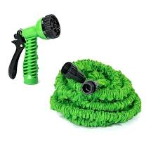garden hoses at home depot. Perfect Garden Expandable Lawn Garden Hose With 6 Way Spray Nozzle Green Feet 25 Foot Home  Depot And Hoses At P