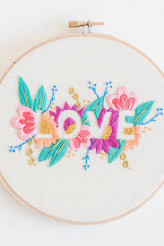 Love Hand Embroidery Designs Its All You Need And This Embroidery Pattern That Too