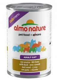 <b>Daily</b> Menu Cat Duck, <b>консервы</b> для кошек с Уткой / <b>Almo Nature</b> ...