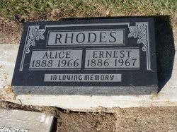 Alice Rhodes (1888-1966) - Find A Grave Memorial