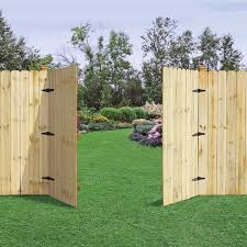 double fence gate. Fence Gate · Outdoor Essentials Dog Ear Double