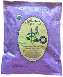 <b>Tummy Teas</b>, <b>Organic Peppermint</b> Tea, Caffeine Free, 16 oz (453 g ...