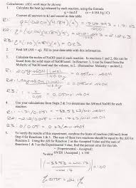 mike s online labbook hess law additivity of heats of reaction mike s online labbook