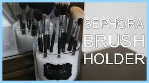 sephora inspired makeup brush holder
