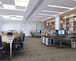 3d office design. Detailed Office Interior Scene 3d Model Max Fbx 1 Design R