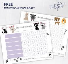 Behavior Reward Chart Printable Free Printable Behavior Reward Chart For Kids Tickled