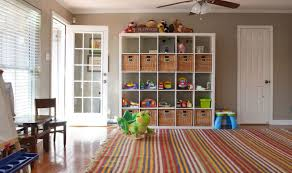 Delightful Ikea Expedit Toys Area For Storage