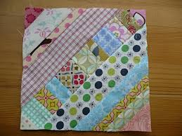 string quilt tutorial; this would look super cute with alternating ... & string quilt tutorial; this would look super cute with alternating blocks  making a zigzag pattern Adamdwight.com