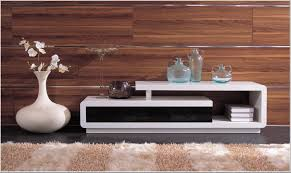 d  modern white and black lacquer tv stand modern furnishings