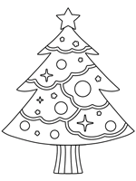 Xmas coloring book pages are great to have around at christmas for your own children and for any visiting friends and family members. Christmas Trees Coloring Pages