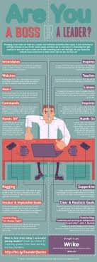 best images about manager and or leader bad boss are you a boss or a leader infographic