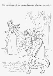 Small Picture Frozen Elsa The Snow Queen Making Snowflakes Coloring Page