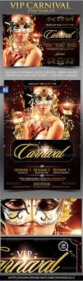 vip carnival flyer template party events fonts and flyer template vip carnival flyer template link graphicriver net user