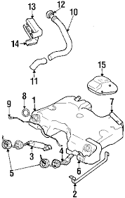 parts com® volvo v70 fuel system components oem parts diagrams 1999 volvo v70 awd l5 2 4 liter gas fuel system components