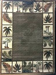 tropical rugs tropical rugs palm tree point area rug beige design 1 tropical rugs tropical
