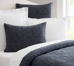 Washed Cotton Quilt & Sham | Pottery Barn &  Adamdwight.com