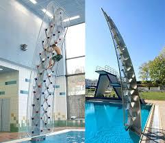 build a climbing wall sport poolside climbing wall building a climbing wall in your attic build build a climbing wall