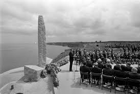 Reagans D Day Speech About The Boys Of Pointe Du Hoc Written By
