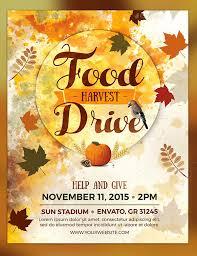 Flyer Design Food 25 Food Drive Flyer Designs Psd Vector Eps Jpg Download