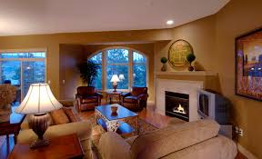 Extravagant Design Tuscan Style Living Room With Soft Furniture And