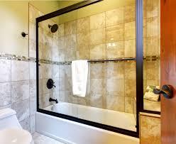 shower tub combo glass doors framed vs frameless glass inside custom bathroom glass