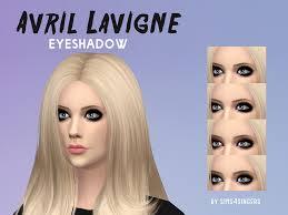 avril lavigne eyeshadow
