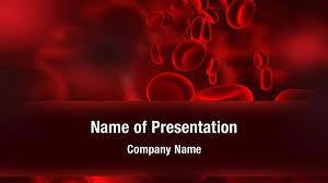 Human Blood Cells Powerpoint Templates Human Blood Cells