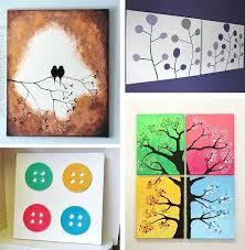 canvas wall art ideas 1 tutorials 25 creative and easy diy full size