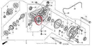 similiar honda recon rear axle diagram keywords honda rancher 350 rear axle diagram honda 300 rear end diagram 2000