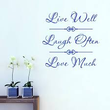 Live Laugh Love Quotes live laugh love quote wall sticker by mirrorin notonthehighstreet 36