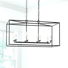 rectangular lantern chandelier rectangular lantern chandelier over dining table kitchen chandeliers room decoration using gold glass