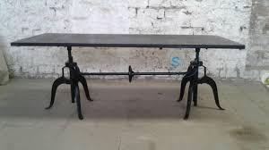 vintage industrial furniture tables design. Shakunt Vintage Industrial Crank Table Furniture Tables Design