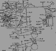generator and starter wiring (diesel) [01g23] tractor john deere John Deere 3010 Hydraulic Diagram list of spare parts