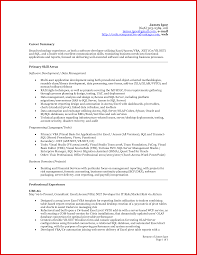 New Accountant Profile Summary Mailing Format