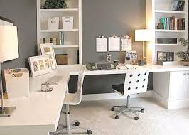 home office colorful girl. Modern Gray And White Home Office Design Colorful Girl