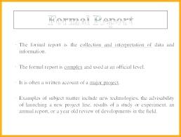 Sample Formal Report Latex Business Report Template Formal Report Format Sample 5