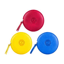 gz sewing tape measure leather retractable measuring tape 150 cm 60 inch tailor fabric small tape measure with push on red yellow blue