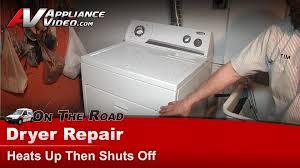 Whirlpool Wgd5500sq0 Dryer Repair Dryer Heats Up Then Shuts Off