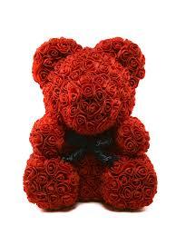 Мишка из 3D роз PLATINUM. 6986391 в интернет-магазине ...